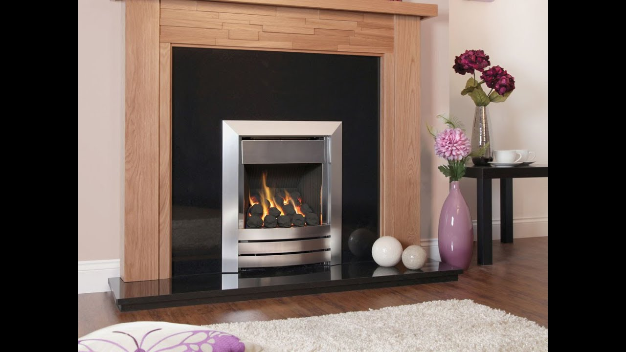kinder camber plus high efficiency gas fire youtube