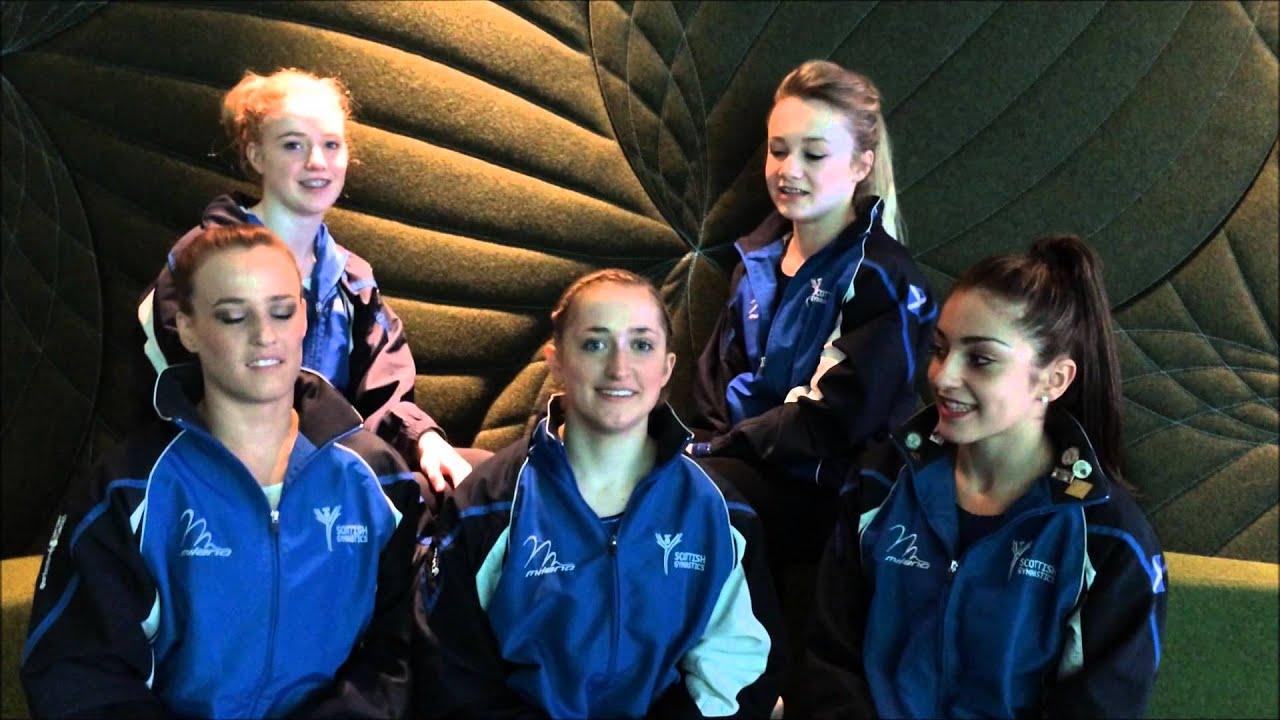 Team Scotland Glasgow 2014 - Women's Artistic Gymnasts ...