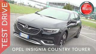 Opel Insignia Country Tourer a Ruote in Pista