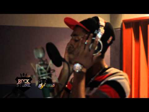 Deep Jahi in studio in Jamaica recording LIFE GOES ON