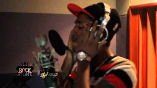 Deep Jahi in studio in Jamaica recording LIFE GOES ON