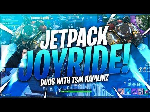 TSM Myth - JETPACK JOYRIDES WITH HAMLINZ!! (11 FRAGS) | (Fortnite BR Full Match)