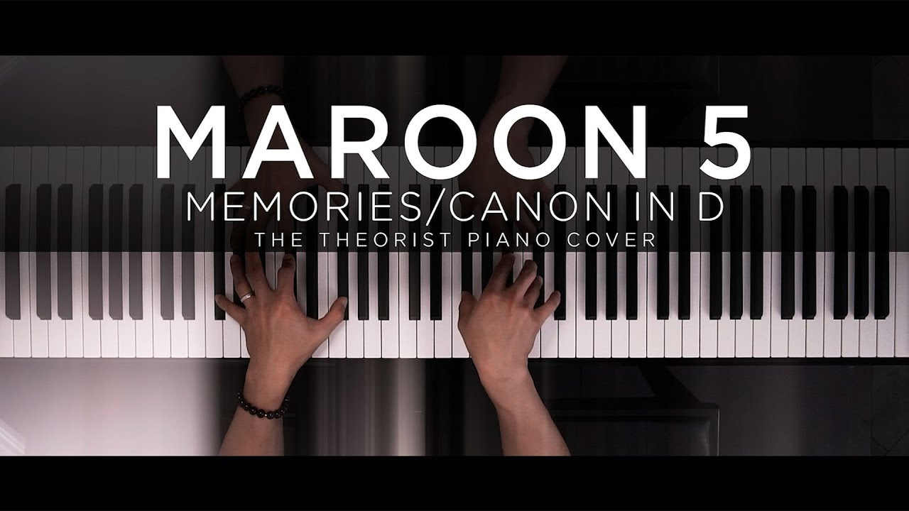 The Theorist Memories Canon In D Sheet Music Piano Solo In B Major Transposable Download Print Sku Mn0201706