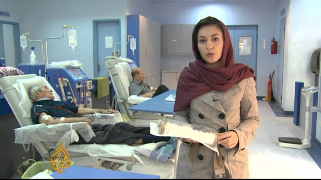 Iran S Hospitals Feel Pain Of Sanctions Youtube
