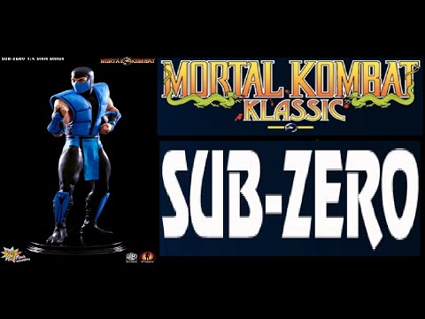 Pop Culture Shock Toys - Mortal Kombat Klassic Sub Zero Quarter Scale Statue Review