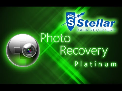 stellar photo recovery platinum complete and full review youtube