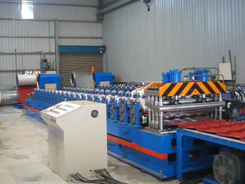 high speed roof tile machine