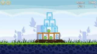 Angry Birds прохождение уровень 1 яйца-пашот