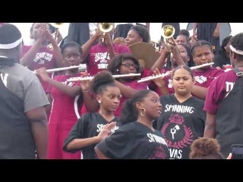 Okolona High School Marching Band | In Stands At Selma's Battle Of Bands Competition | 2018 |