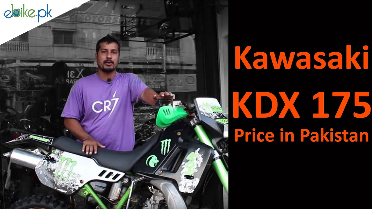 Kawasaki KDX 175 Price in Pakistan