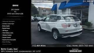 Used 2013 BMW X3 | Rite Cars, Inc, Lindenhurst, NY