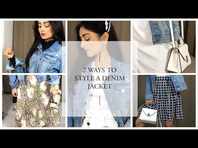 7 WAYS TO STYLE A DENIM JACKET | 7 DAYS 7 OUTFIT IDEAS | PRITY SINGH