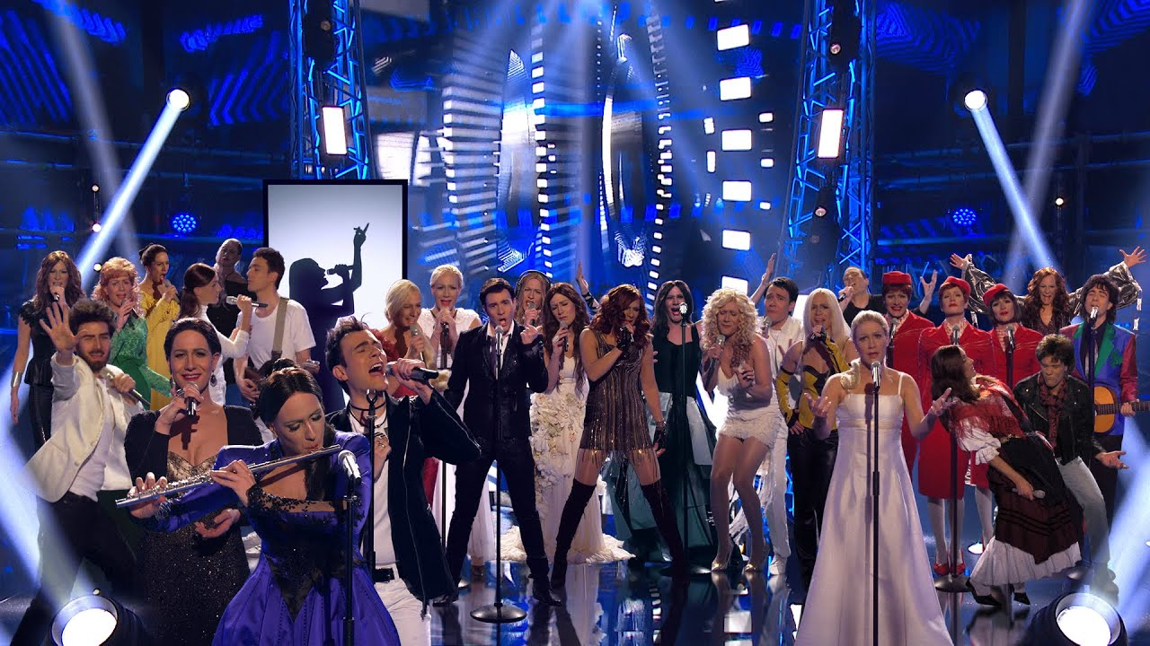 Download Klemen Slakonja recreates Slovenia's 25 years in the Eurovision Song Contest (Ema 2020 Interval Act)