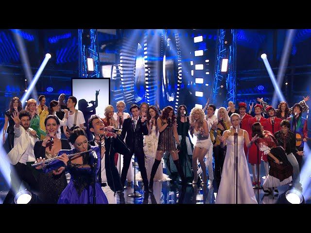 Klemen Slakonja recreates Slovenia's 25 years in the Eurovision Song Contest (Ema 2020 Interval Act)