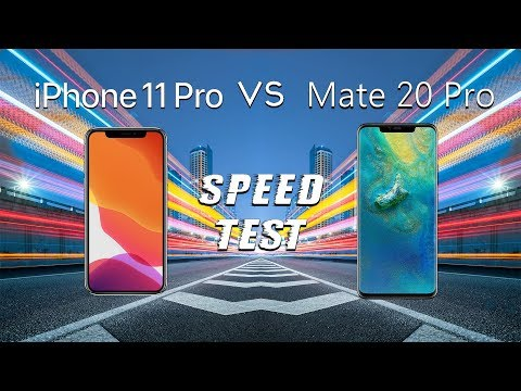 IPhone 11 Pro Vs Huawei Mate 20 Pro: SPEED TEST