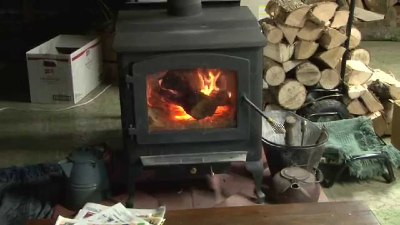 wood stove wood porch youtube