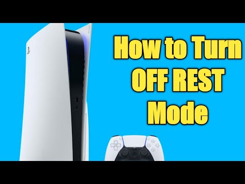How To TURN OFF Rest Mode | Playstation 5 Temporary BUG FIX!