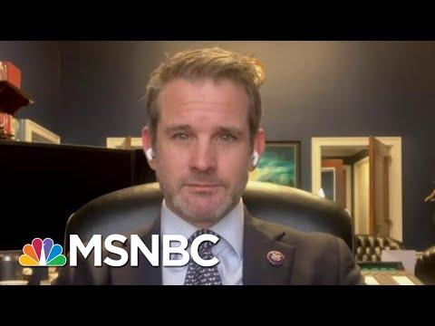 FULL INTERVIEW: GOP Rep. Kinzinger Calls For Invoking Of 25th Amendment   Hallie Jackson   MSNBC