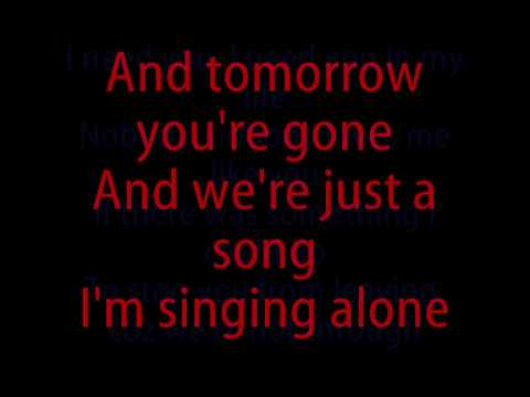 I just want to see you tonight lyrics
