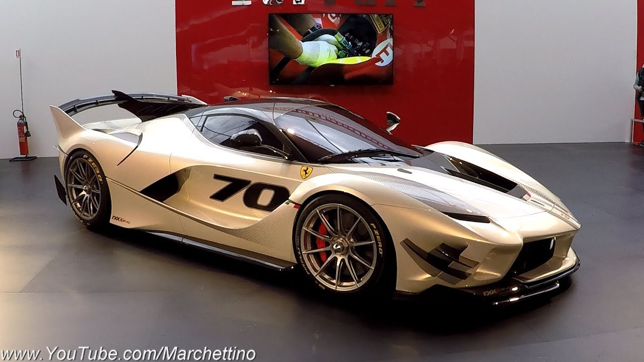 This Is The 4 0m Ferrari Fxxk Evo World Debut Sub Eng