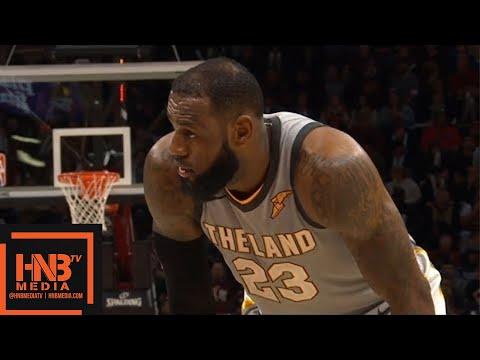Cleveland Cavaliers vs San Antonio Spurs 3rd Qtr Highlights / Feb 25 / 2017-18 NBA Season