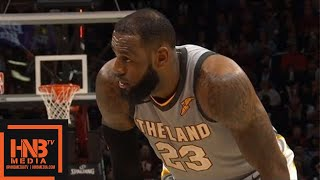 Cleveland Cavaliers vs San Antonio Spurs 3rd Qtr Highlights / Feb 25 / 2017-18 NBA Season