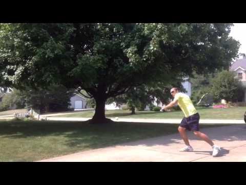 Tennis Training (Bailando Style)