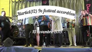 MARTIEL festival accordéon nov 2019 Final 2e partie la Marseillaise