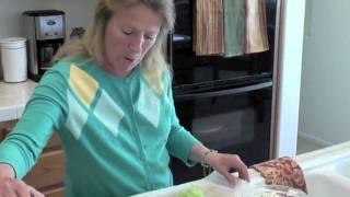 Dill Cream Cheese Roast Beef & Cucumber Sandwiches