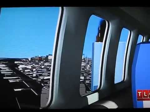 United Airlines Flight 175 ''View from left side of ...