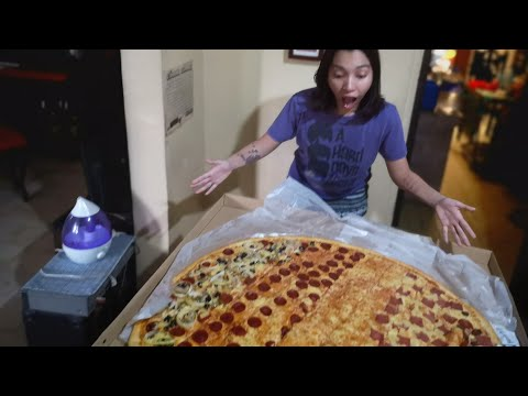 Giant 36 Inch Pizza From Big Guys Pizza Philippines