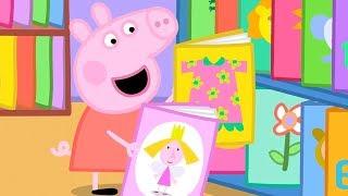 小猪佩奇 | 精选合集 | 1小时 | 图书馆 📖| 粉红猪小妹|Peppa Pig Chinese |动画