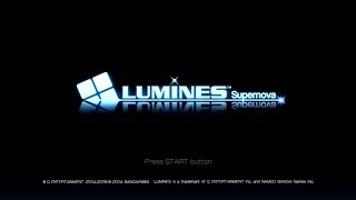 Lumines Supernova PS3 Gameplay