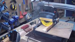 Replacing table top for radial arm saw Part 1