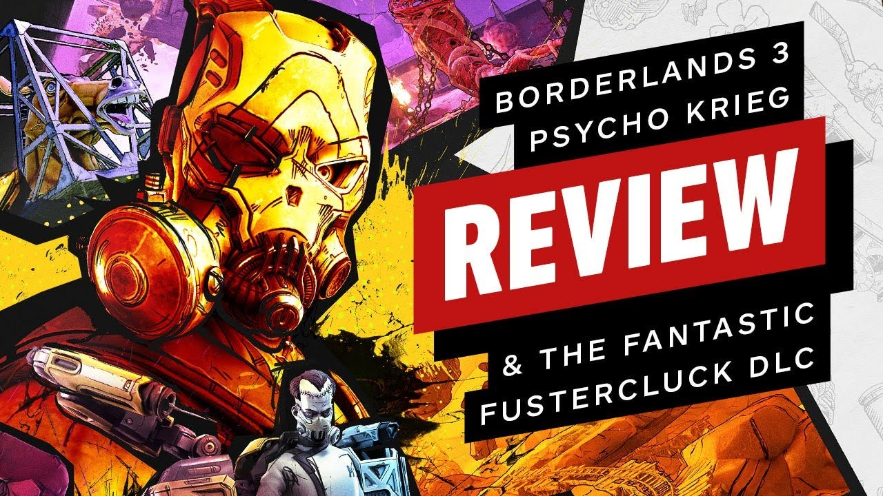 Borderlands 3: Psycho Krieg and the Fantastic Fustercluck DLC Review (Video Game Video Review)