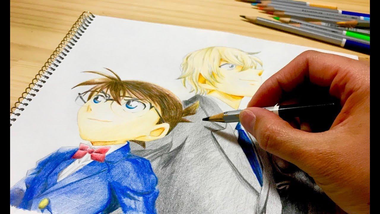 名探偵コナン 映画 ゼロの執行人 ぬりえ Conan Movie Coloring Book