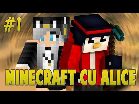 Minecraft Cu Alice - Pinguinul Pierdut...?! [Ep.1]