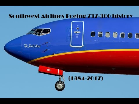 Fleet History - Southwest Airlines Boeing 737-300 (1984-2017)