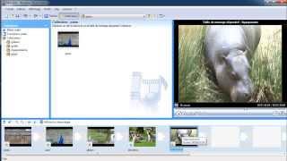 Créer un montage vidéo avec Moviemaker 2 (1/3).