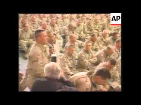 Disrguntled soldier complains to Rumsfeld