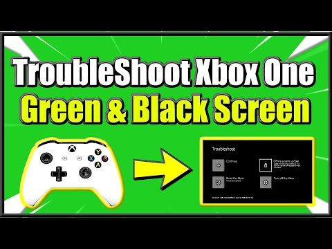 how-to-access-xbox-one-troubleshoot-screen-on-start-up-to-fix-green-and-black-screen-errors-(easy!)