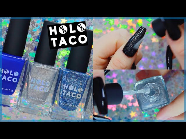 Trying Holo Taco By Simply Nailogical