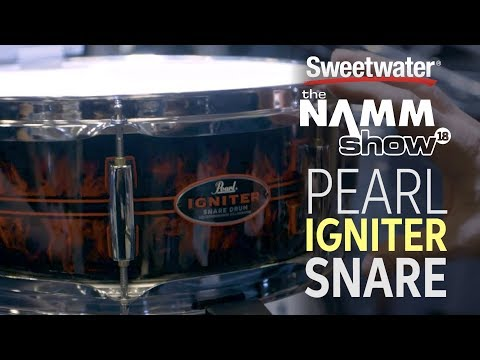 Pearl Casey Cooper Signature Snare Drum at Winter NAMM 2018 Mp3