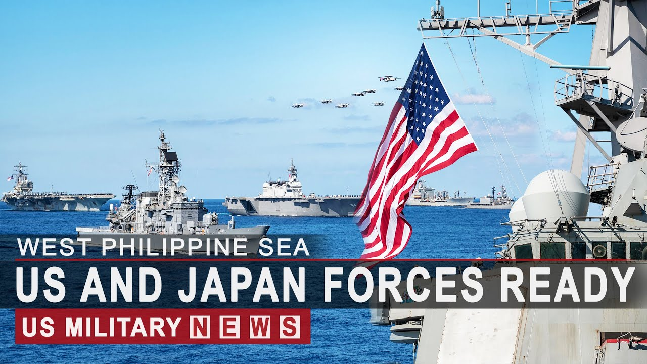 PHILIPPINE SEA: US And Japan Sent Full Forces to South China Sea