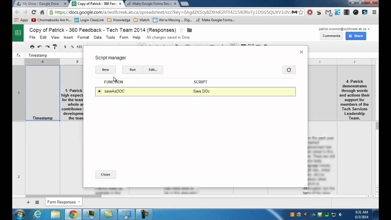 How To Make Google Forms Results Readable - YouTube