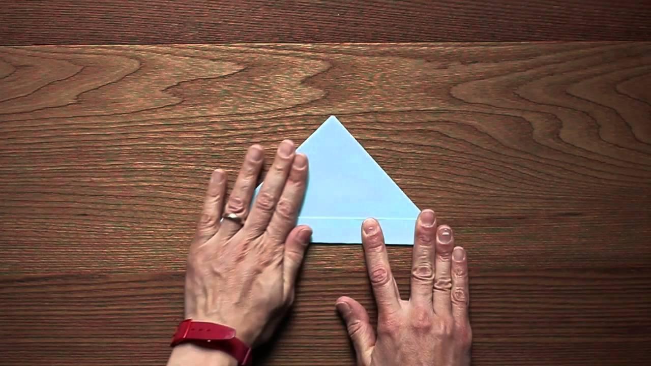 Lavoretti con la carta realizzare una barchetta origami