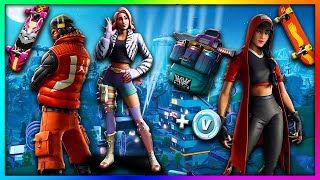 "LEAKED ""Grind, Wilde & Takara!"" NEW Skins in Fortnite: Battle Royale SEASON 9!"