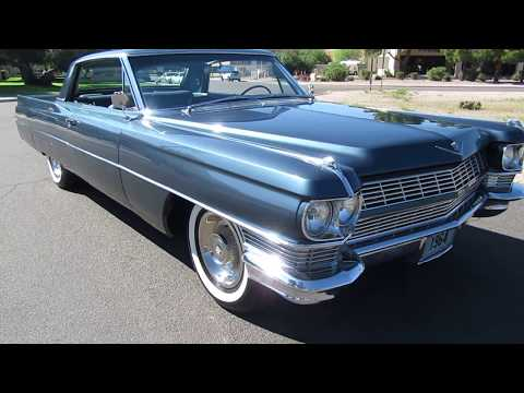 Classic Car Investments LLC - 1964 Cadillac Deville SOLD