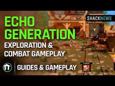 Echo Generation - Exploration & Combat Gameplay