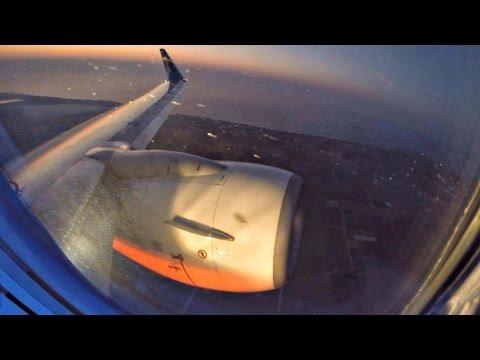 UIA Boeing 737-800 | Stunning DAWN TAKEOFF @ LCA Intl | Wet Runway | GoPro Wing View